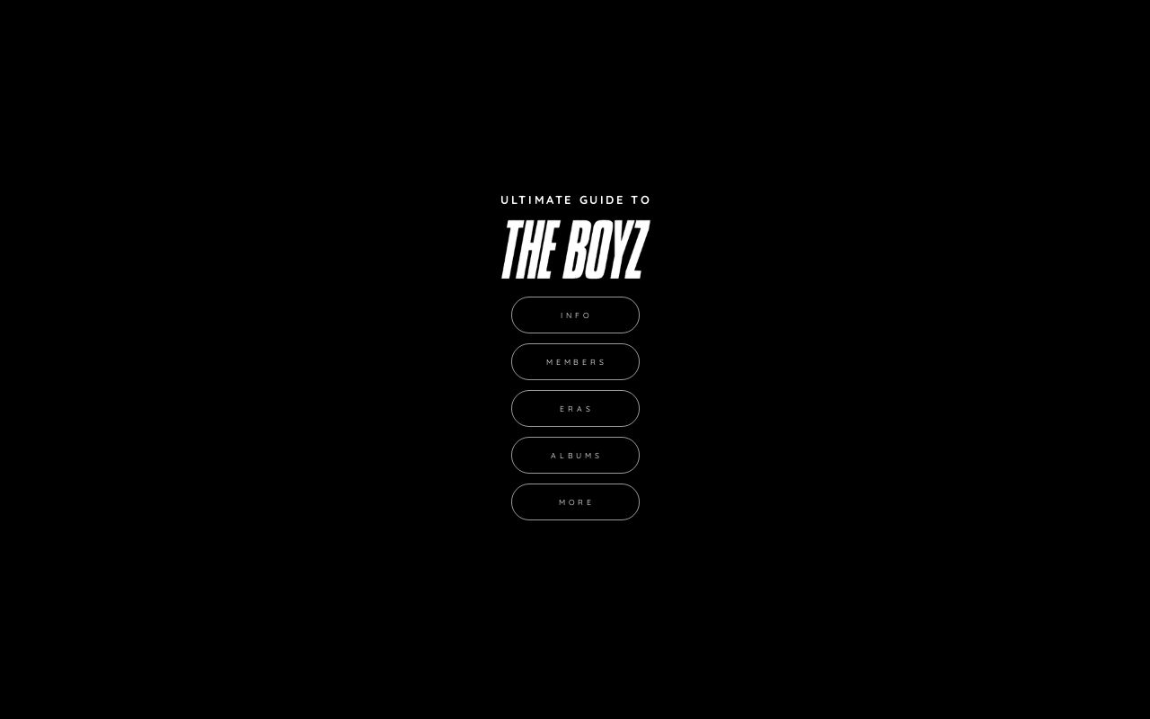 Ultimate Guide To The Boyz